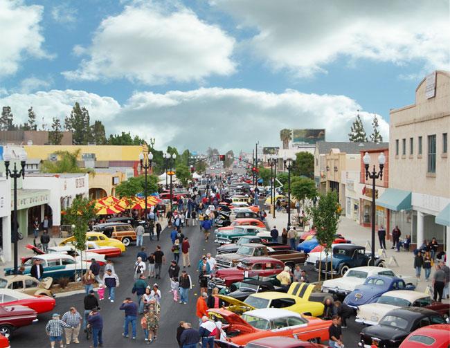 Cajon Classic Cruise Car Shows El Cajon CA - California car shows