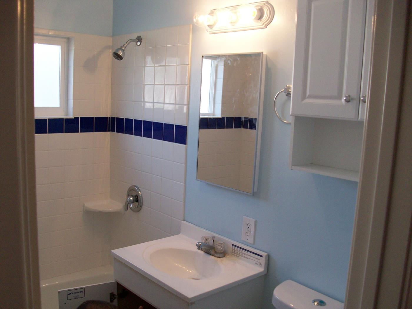 After: Bathroom remodel