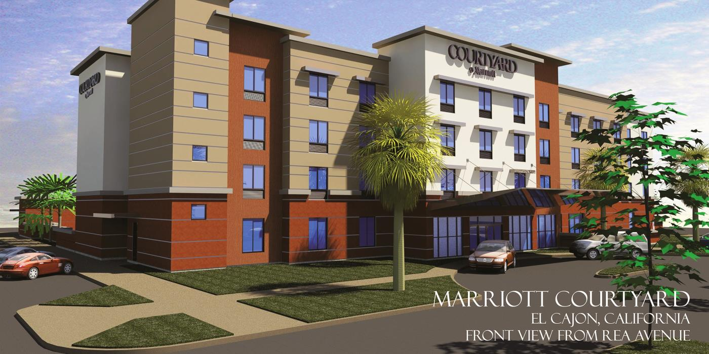 Officials Complete The Final Paperwork For A Marriott Hotel In Downtown El Cajon