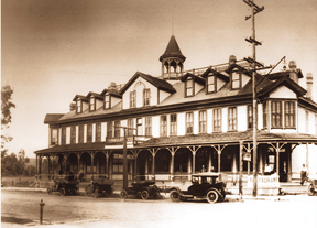 The Corona Hotel on Main Street