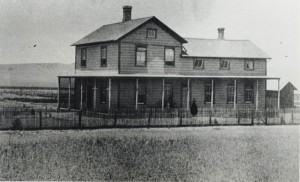 The Claydell ranch house