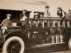 El Cajon's First Fire Truck