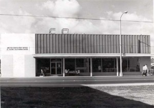 El Cajon Post Office in 1945