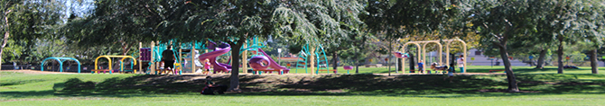 Kaboom playground at Wells Park
