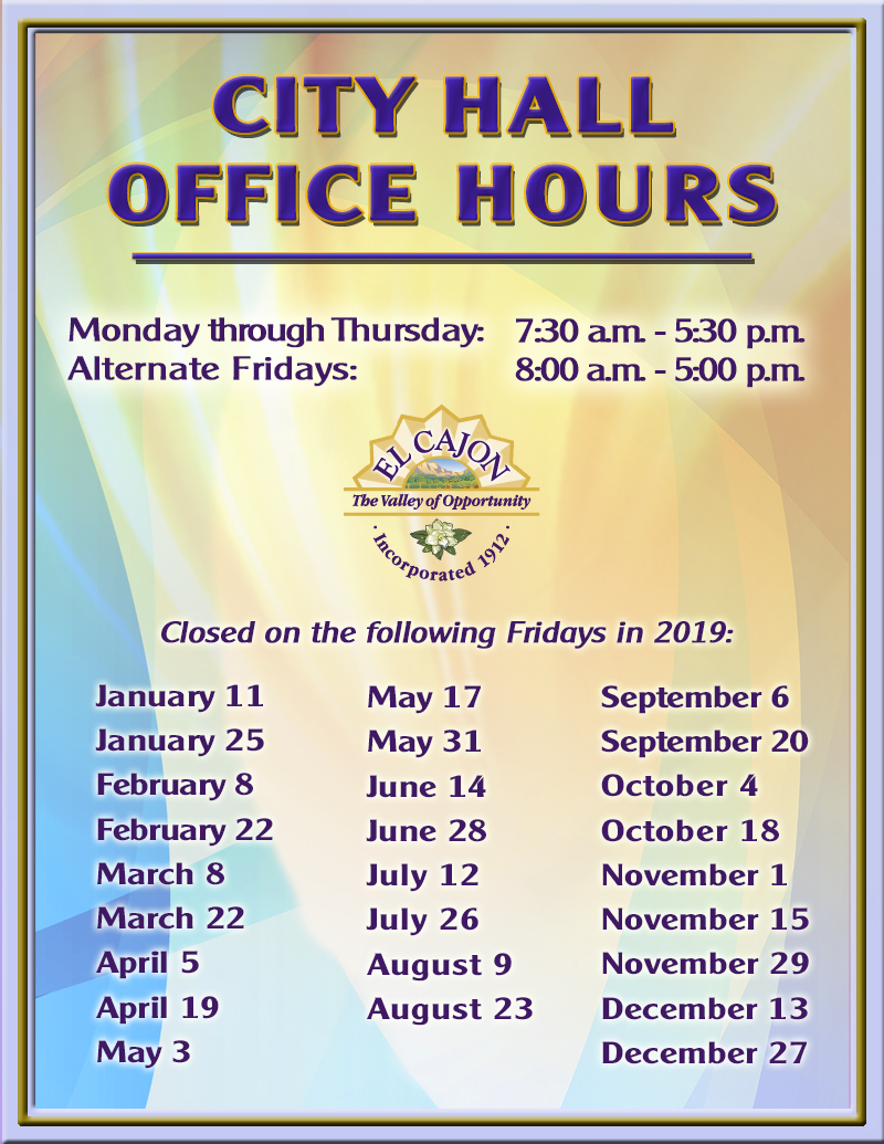 Hours Flyer CH 2018