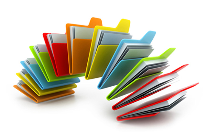 Forms in folders