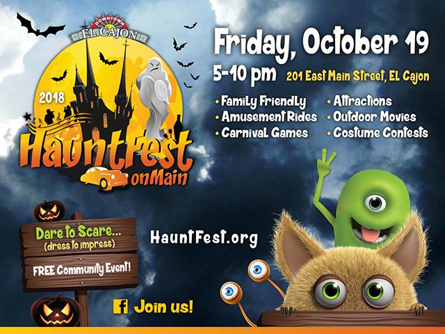 HauntFest is 3rd friday in october